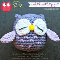 Mr. Murasaki – AmiguruMEI – A Crochet Bucket List Project