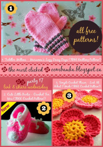 Featured: Baby Booties. Free Pattern. Crochet for You. Oombawka Design Crochet.