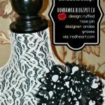 Ruffled Rose Pin Crochet Pattern – A Crochet Bucket List Project