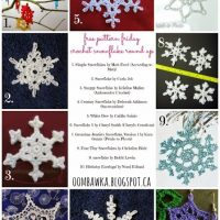 Crochet Snowflakes – Free Pattern Friday Round Up!