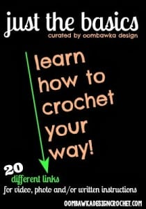 Learn how to Crochet Your Way - oombawkadesigncrochet.com
