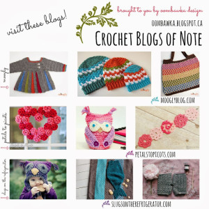 Best Crochet Blogs. Moogly and Petals to Picots. Oombawka Design Crochet.