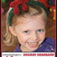 Holiday Headband – Free Crochet Pattern