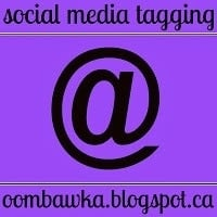 Social Media Tagging How To - as seen on oombawkadesigncrochet.com