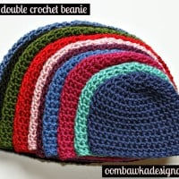 Basic Half Double Crochet Beanie Pattern. Free Pattern for Hats. Baby, Toddler, Child, Teen and Adult Hat Patterns.