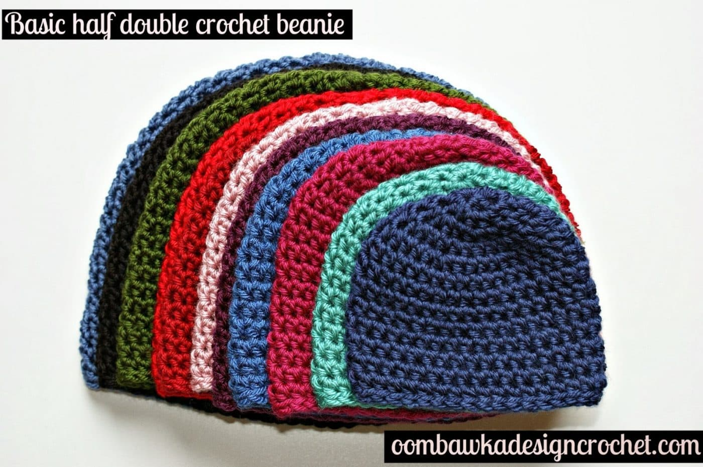 Crochet Basic Patterns : Crochet Hat Pattern - Free Crochet Pattern ? Oombawka Design Crochet