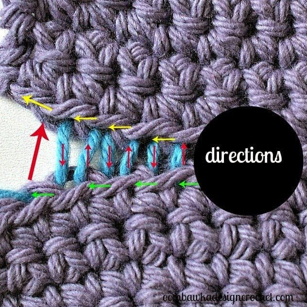 How To Join Crocheted Fabrics With an Invisible Seam ...