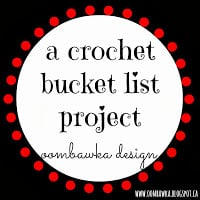 Crochet Bucket List Project Oombawka Design