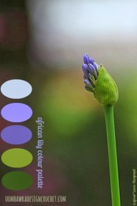 African Lily Color Palette