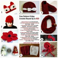 Free Crochet Pattern Friday – The Colour Red