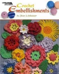 Crochet Embellishments. Book Review. Oombawka Design Crochet.