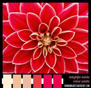 Delightful Dahlia Colour Palette