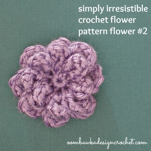 Simply Irresistible Crochet Flower Oombawka Design
