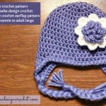 Simply Irresistible Crochet Flower - Free Crochet Pattern