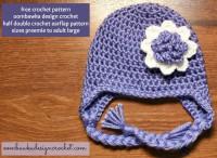 HDC Earflap hat