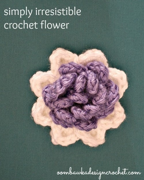 Simply Irresistible Crochet Flower