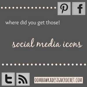 Social Media Icons for Free Online. Oombawka Design.