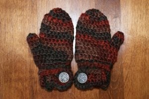 Drew's Easy-On Mittens
