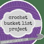 crochet bucket list project