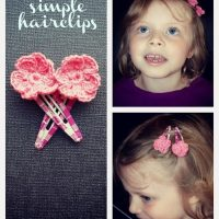 Darla's Simple Hair Clips