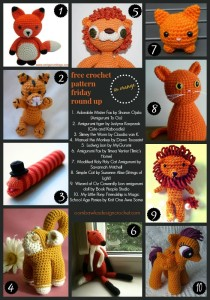 10 Brilliant Free Toy Patterns. Crochet Pattern Roundup. Orange Yarn. Oombawka Design Crochet.