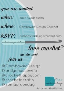 Crochet Twitter Hop Oombawka Design