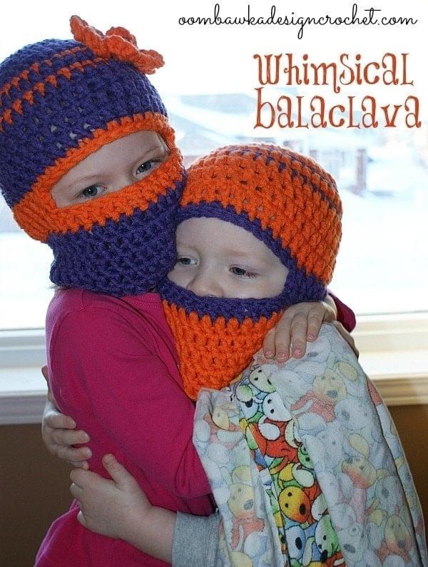 Whimsical Balaclava Free Crochet Pattern Oombawka Design Crochet