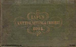 Lady's Knitting, Netting & Crochet Book