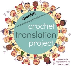 Spanish Crochet Terms and English Translations
