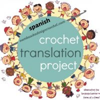 U.S. and Spanish Crochet Terms