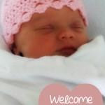 Mya Simply Pink NB Hat