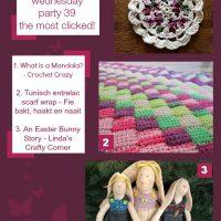 Link & Share Wednesday #40 & a Crochet Twitterhop too!