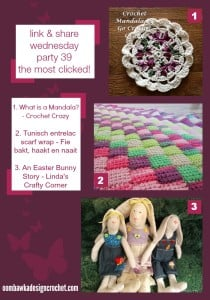 Featured: Crochet Mandala. Go Crochet Crazy. Oombawka Design.