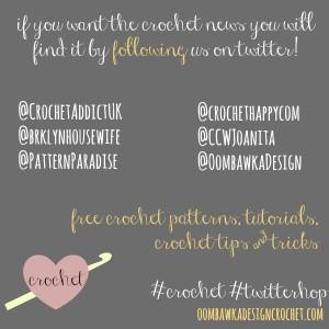 #crochet #twitterhop