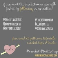 Time to P A R T Y ! Crochet #Twitterhop & L&S Wednesday #37!