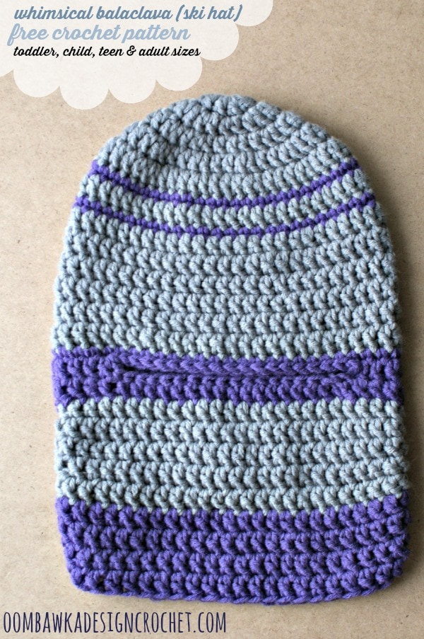 free ski hat crochet pattern
