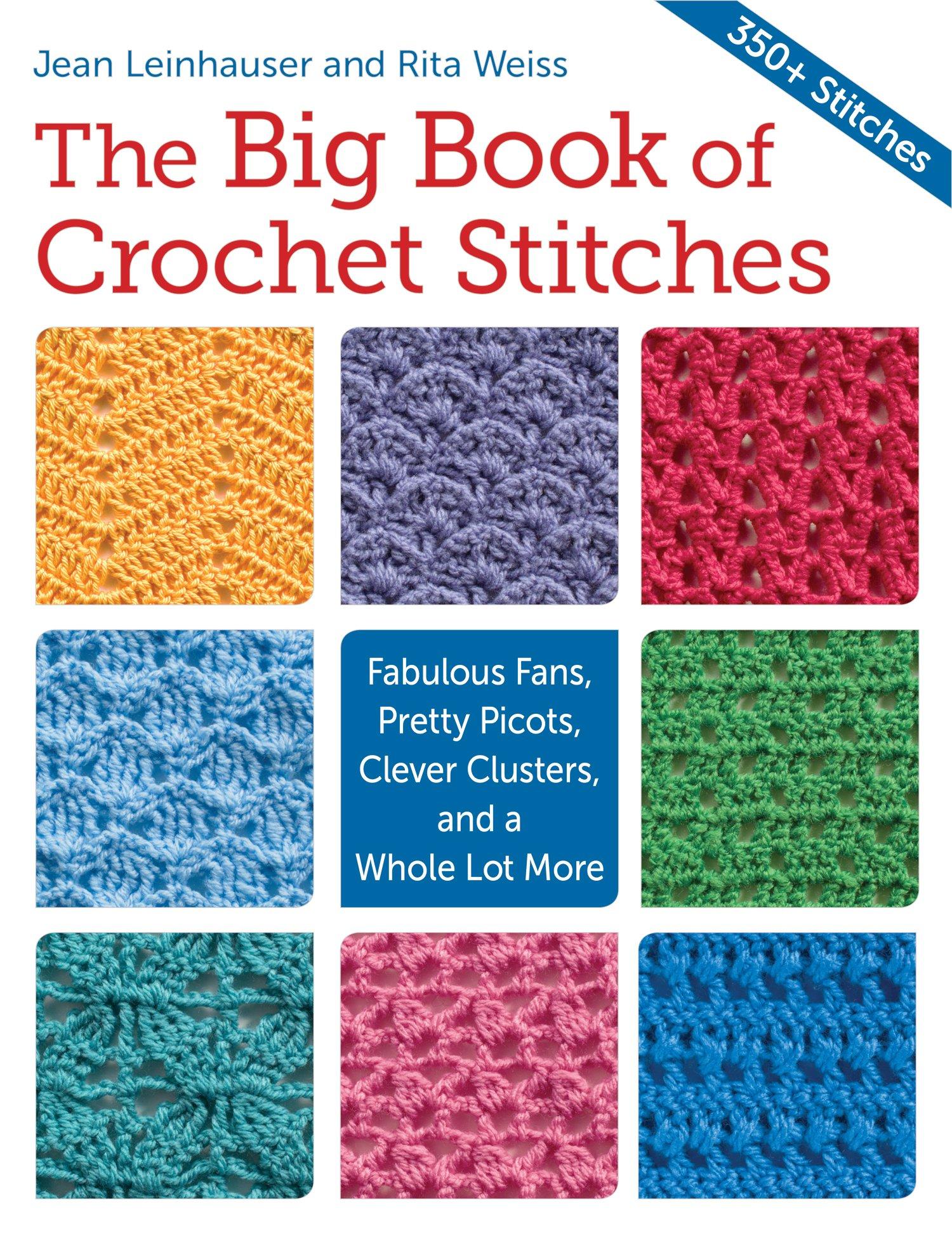 Home Decor Tutorials The Big Book Of Crochet Stitches Oombawka Design Crochet