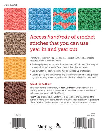 The Big Book of Crochet Stitches ? Oombawka Design Crochet