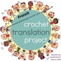 French Crochet Terms and U.S. Crochet Terms