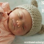 Myas Newborn Baby Bear Hat