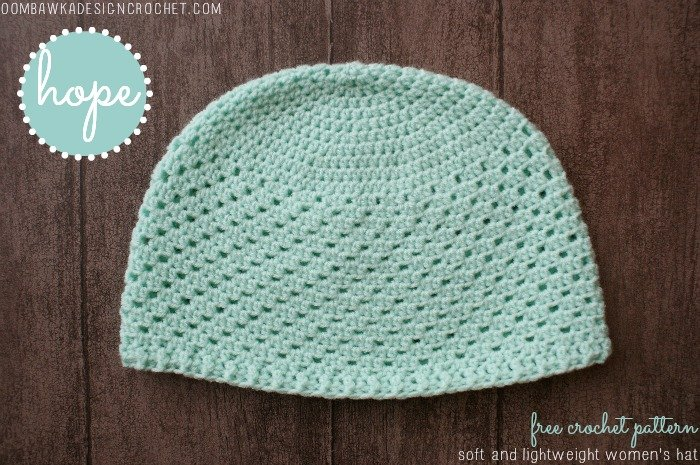 Hope Women s Hat Pattern • Oombawka Design Crochet bf66a1c2eb5