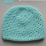 My Handsome Prince Newborn Baby Hat - Featuring Anne Geddes Yarn #RedHeartYarns
