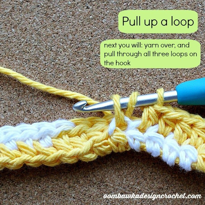 pull up a loop to finish tutorial