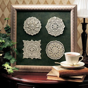 Magnificent Mini Doilies Thread Crochet Patterns ePattern