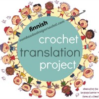 Finnish Crochet Terms and U.S. Crochet Terms