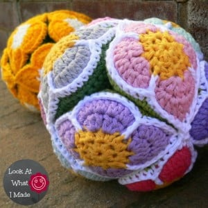 Crochet-Flower-Puzzle-Ball