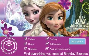 Frozen Party Supplies & Costumes!