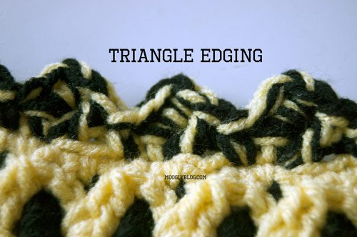 Triangle Edging