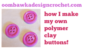 How I make my own buttons!