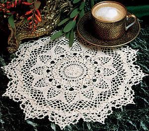 Amaretto Crochet Doily ePattern